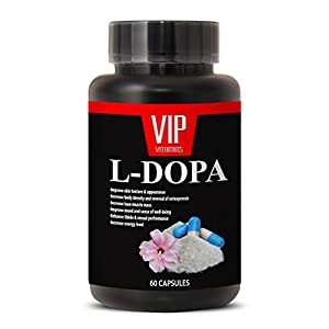 L-Dopa (99% Extract) 350mg - Mucuna Pruriens Extract Vegetarian Formula (1 bottle 60 capsules)