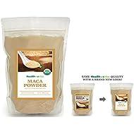 Healthworks Maca Powder Peruvian Raw Organic, 1lb