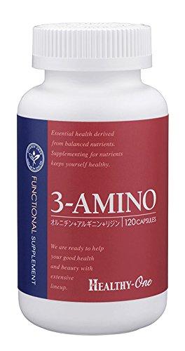ヘルシーワン 3-アミノ(オルニチン+アルギニン+リジン) B0037N9BZ2