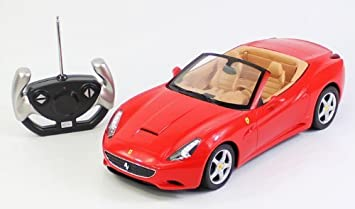 Delightful BIG 1/12 Scale Ferrari California Convertible Radio Remote Control Sport Car  RC RTR Awesome Ideas