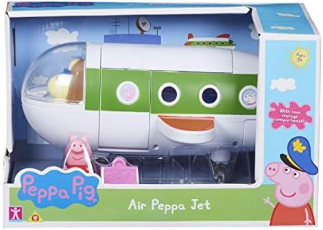 Figures Air Peppa Plane Airplane Play Set Toy Peppa Pig Aeroplane Playset