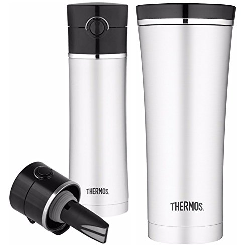 Thermos Vacuum Insulated Tea Infuser Drink Bottle and Sipp T
