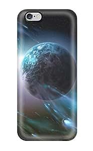 AnnaSanders Iphone 6 Plus Hybrid Tpu Case Cover Silicon Bumper Planet