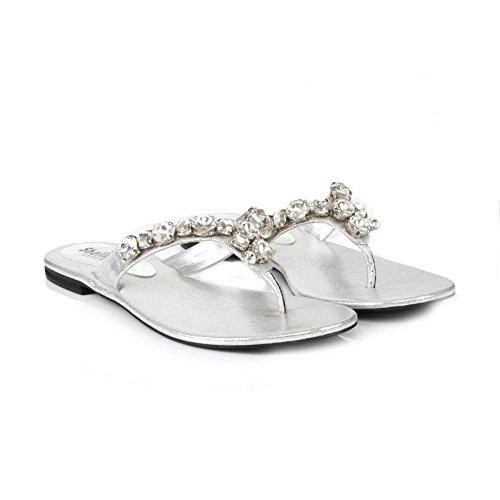 Shoes Silver Femme Shalimar Plateforme Sandales 7I8Ixqd