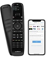 $34 » Updated SofaBaton U1 Universal Remote with OLED Display and Smartphone APP, All in One Universal Remote Control for up to 15 Entertainment Devices, Compatible with Smart TVs/DVD/STB/Projector so on