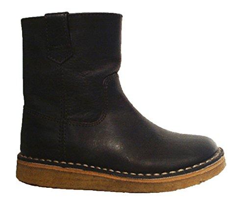 Pinocchio Stiefel Chelsea Boots Leder Reißverschluss braun