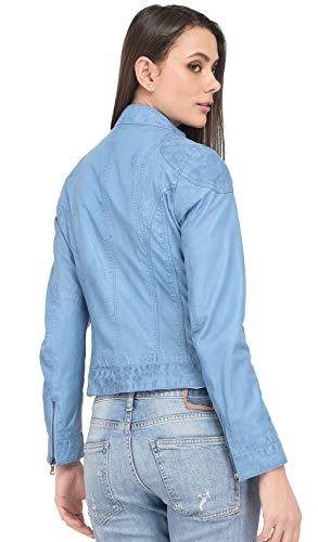 0537 Lina Bleu Blouson Oakwood Femme bleu Ciel AYqBBdZwH