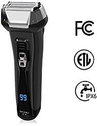 BriGenius Men's Electric Foil Shaver, USB Rechargeable...