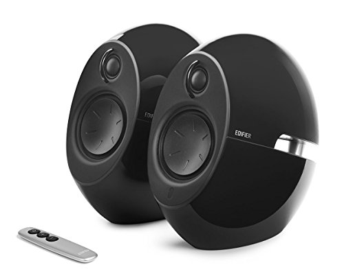 - Edifier USA e25HD Luna Eclipse HD 2.0 Bluetooth Speakers with Digital Optical Input (Black)