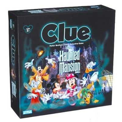 Disney Haunted Mansion Clue by Disney Parker Brothers