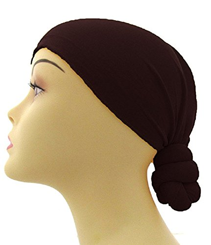 Pre Tied Knotted Head Wrap Scarf