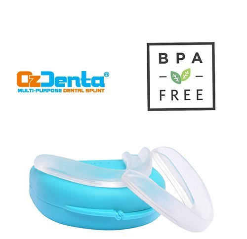Custom Thin Fit - Night Mouth Guard - Pack of 4 - with 2 Storage Cases - Slim Protectors - Bite Splint to Stop Teeth Grinding, TMJ, Bruxism, Clenching - Upper And Lower (Boil And Bite Mouth Guard)