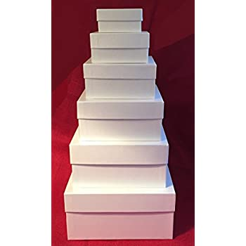 xonex simply desk nesting boxes set of 6 nested decorative boxes largest 5 1 4. Black Bedroom Furniture Sets. Home Design Ideas