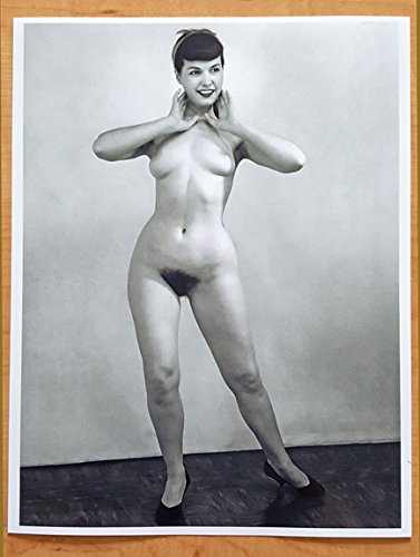 - Bettie Page Art 11 X 14 Photo Print