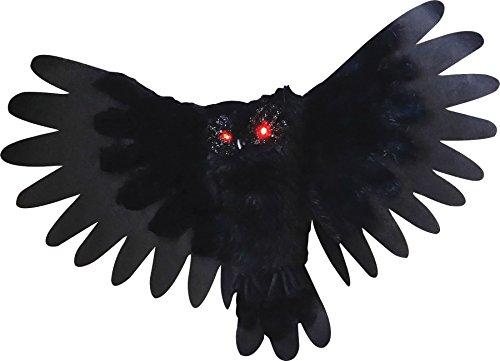 Animated Owl Halloween (Sunstar Animated Light-Up Owl Halloween)