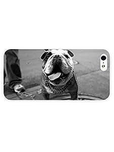 3d Full Wrap Case for iPhone 5/5s Animal English Bulldog73