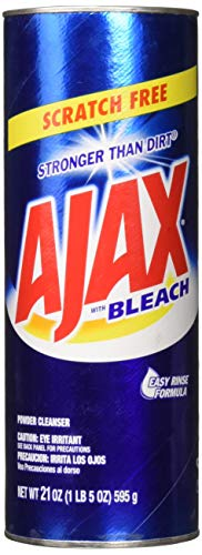 Ajax Powder Cleanser with Bleach, 21oz (595g) Pack of 2 ()