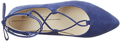 ECCO Ballerine Pointy Shape Blu Donna 2139mediveval 8w8rOq
