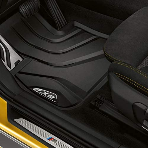 Set of 2 Front Mats BMW 51472414218 All-Weather Floor Mats for G30 5 Series and F90 M5
