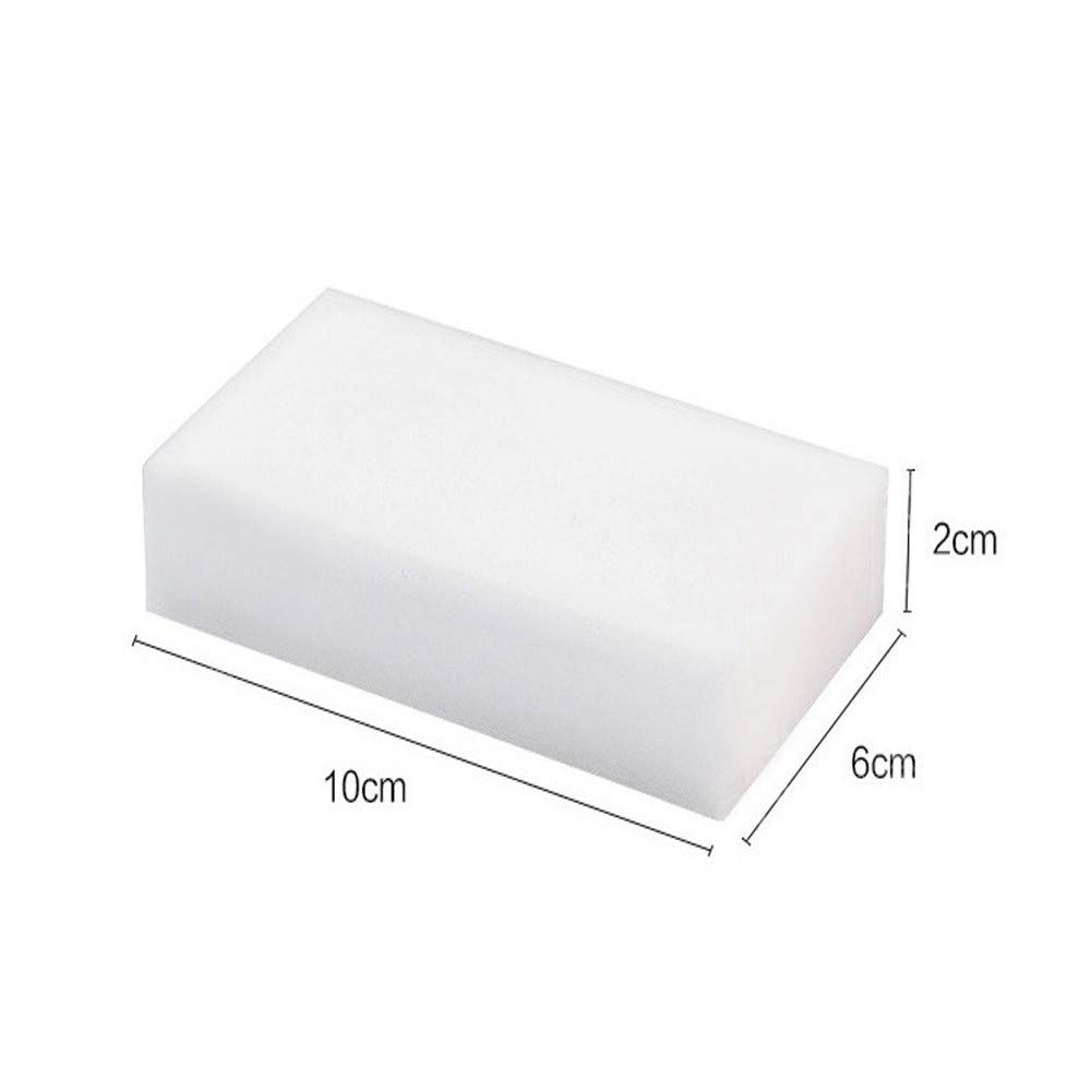 MuSheng 100x60x20mm 5/15/25/35 pcs Eponge Magique Gomme a Effacer Melamine Nettoyeur-Blanc