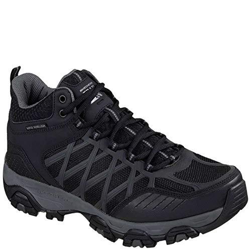 51845 Skechers Bkcc Turbary Men Aircooled Foam Memory Terrabite Sneaker wUZq6