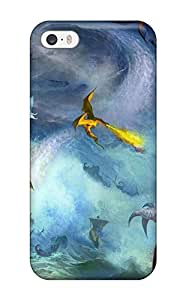 Snap-on Case Designed For Iphone 5/5s- Dragon