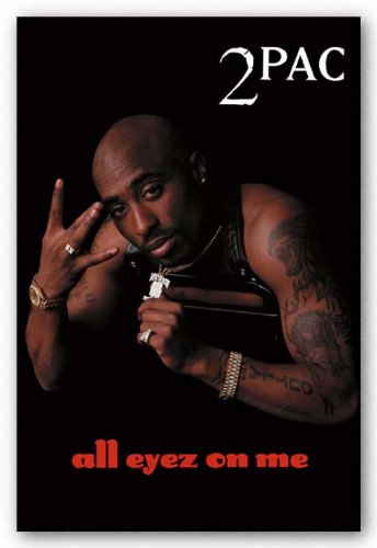 Pyramid Tupac All Eyez On Me Wall Poster