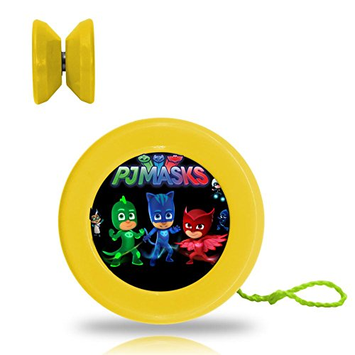 PJ Masks Superheroes Poster Professional Responsive Yoyo With Narrow C Bearing And Extra String (Professional Cartoon Character Costumes)