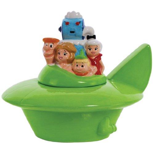 Westland Giftware Ceramic Cookie Jar, 9.25-Inch, The Jetsons Spaceship ()
