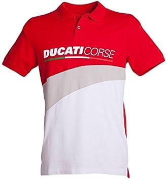 Ducati 2018 Corse - Polo para Hombre (100% algodón, Tallas S a XXL ...