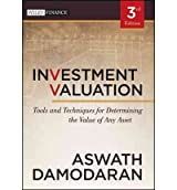 Investment Valuation: Tools and Techniques for Determining the Value of Any Asset (Wiley Finance (Hardcover)) (Hardback) - Common