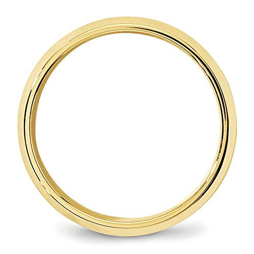 Jewelryweb 7mm comfort fit band ring size 10.5