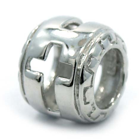 Design Silver Bead Charm (.925 Sterling Silver