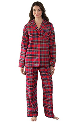 PajamaGram Womens Pajama Sets Flannel