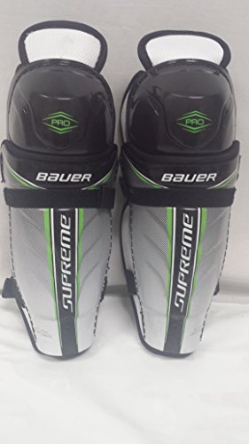 Pro Hockey Shin Guard (Bauer Supreme Pro Hockey Shin Guard Jr-CTC Size 10)