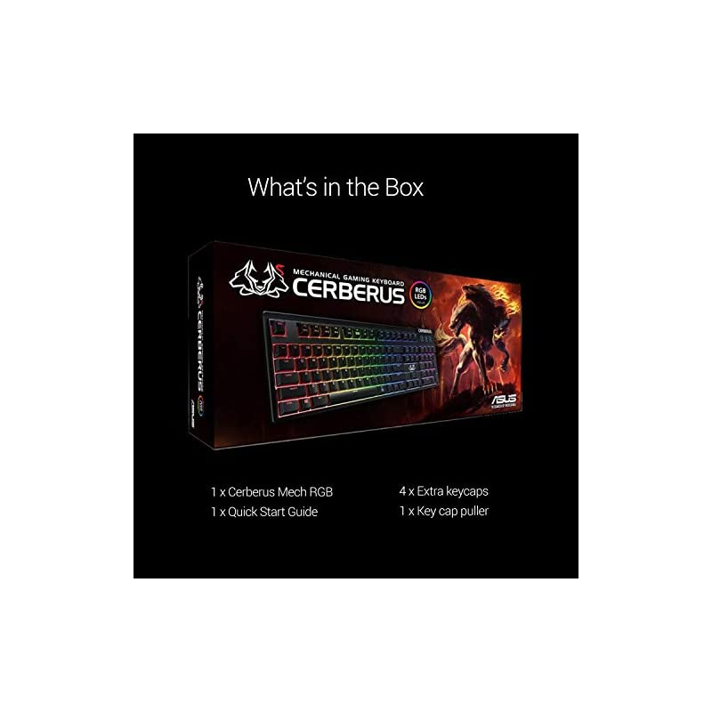 Best Asus Cerberus RGB Mechanical Wired Gaming Keyboard Online India