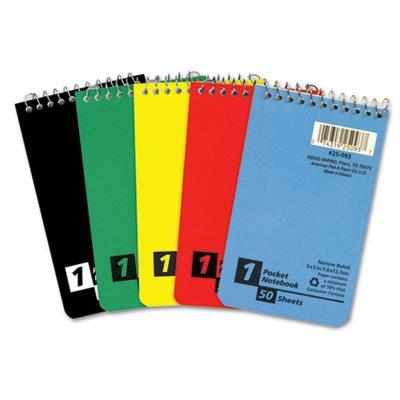 Wirebound Pocket Memo Book - 4