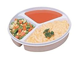 3-Compartment Scoop Dish