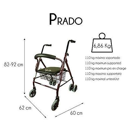 Mobiclinic, Modelo Prado, Andador para minusvalidos, ancianos ...