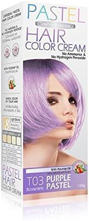 Tinte Coloración Cabello Permanente Pastel golth Emo elfo morado púrpura – Pas de amoníaco/hidrógeno