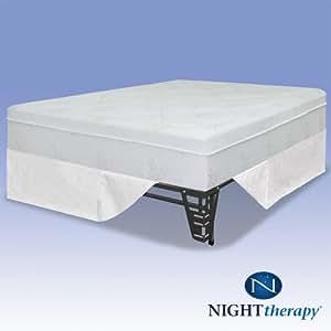 """Amazon Night Therapy 12"""" Pressure Relief Memory Foam"""
