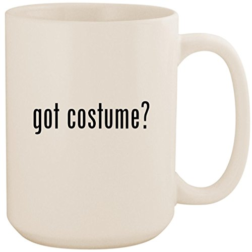 got costume? - White 15oz Ceramic Coffee Mug Cup ()