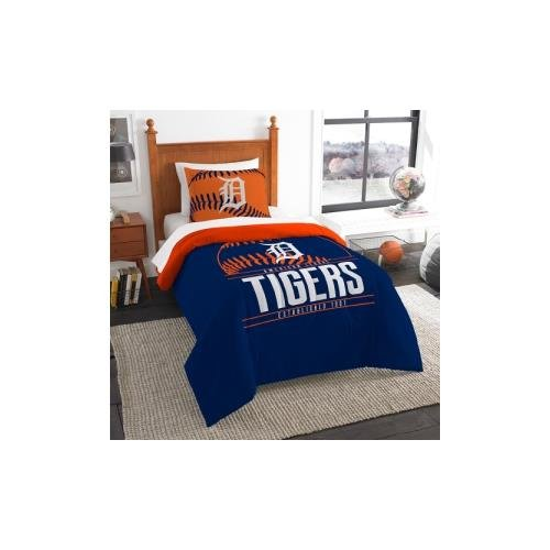 - The Northwest Company MLB Detroit Tigers Twin Comforter and Sham, One Size, Multicolor