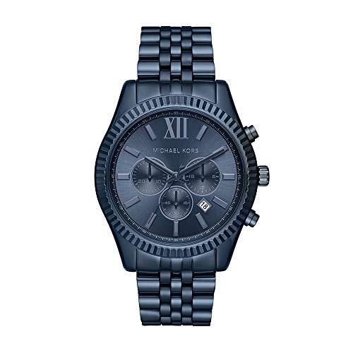 (Michael Kors Men's Lexington Blue Watch)