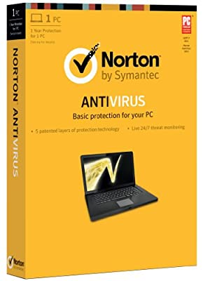 Norton Antivirus 2013 - 1 User / 1 PC