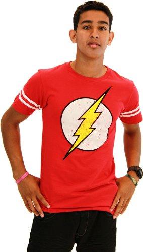 Flash Logo Men's Athletic T-Shirt