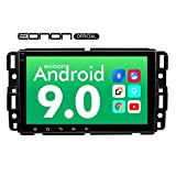 Eonon 8 Inch HD Full Touchscreen Android 9.0 Double Din Bluetooth with Rear View Camera, Car Android Head Unit Applicable to Chevrolet GMC Silverado Express Avalanche Acadia Impal