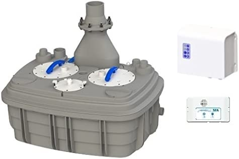 SFA Sanicubic 2 XL Hebeanlage mit Doppelpumpe - Fäkalienhebeanlage Test