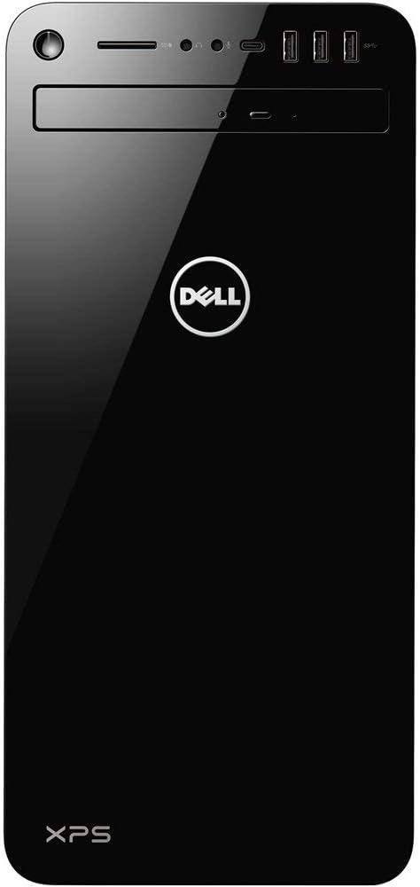 Newest Dell XPS 8930 Desktop Computer PC, Intel 6-Core i7-8700 3.2GHz Processor, 8GB DDR4, 16GB Intel Optane Accelerated 1TB HDD, NVIDIA GeForce GTX 1060, DVDRW, Bluetooth, WiFi, HDMI, Windows 10