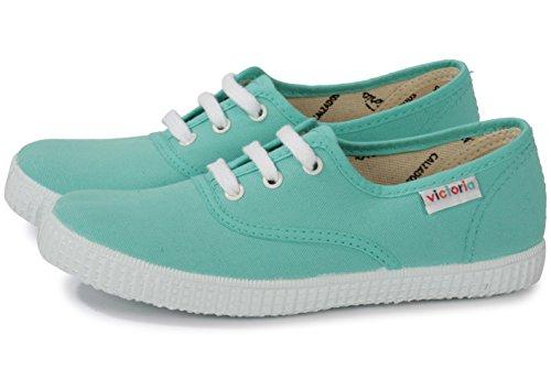 Victoria Inglesa Lona 6613, Zapatillas de Tela Unisex Azul